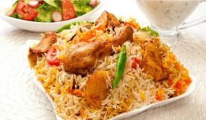 Kerala Chicken Biryani